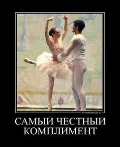демотиватор САМЫЙ ЧЕСТНЫЙ КОМПЛИМЕНТ  - 2012-1-21