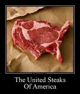 демотиватор The United Steaks  Of America  - 2012-5-02