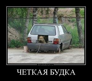 демотиватор ЧЕТКАЯ БУДКА