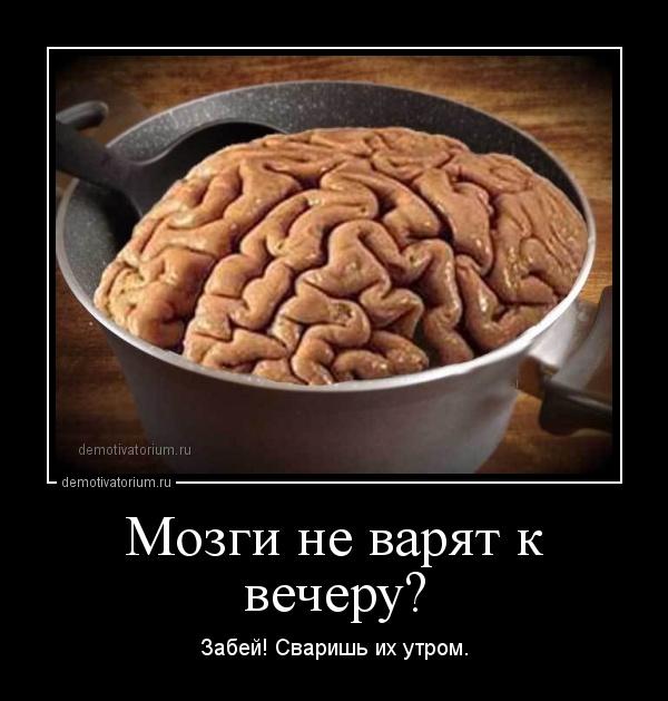 Открытки, картинка прикол мозги