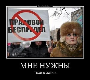 Демотиватор МНЕ НУЖНЫ ТВОИ МОЗГИ!!!
