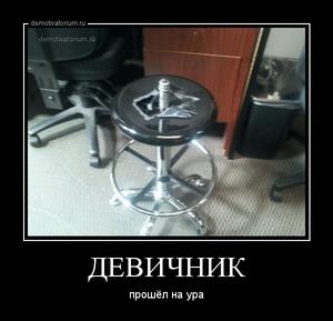 демотиватор ДЕВИЧНИК прошёл на ура - 2013-5-17