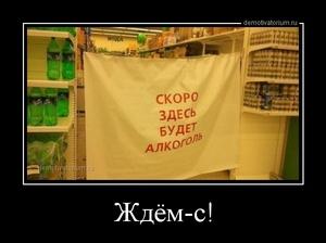 демотиватор Ждём-с!