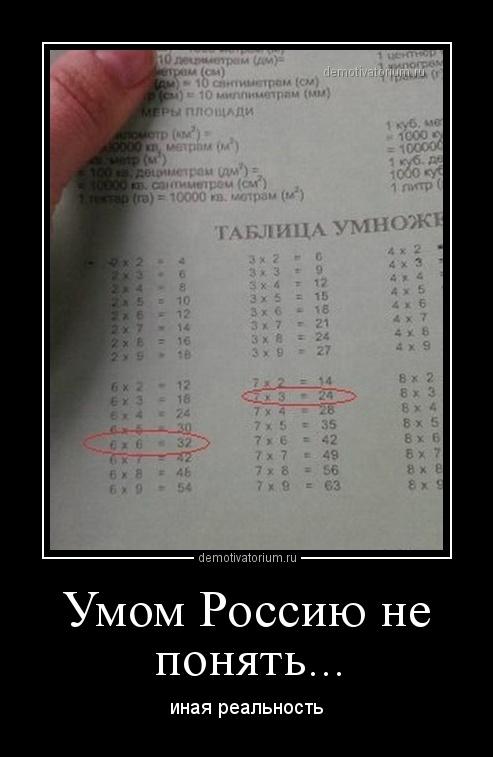Картинки с приколами умом россию не понять, днем
