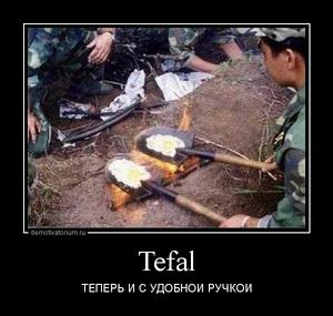 демотиватор Tefal ТЕПЕРЬ И С УДОБНОЙ РУЧКОЙ - 2014-2-11