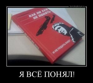 Демотиватор Я ВСЁ ПОНЯЛ!