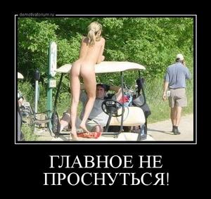 демотиватор ГЛАВНОЕ НЕ ПРОСНУТЬСЯ!  - 2014-4-20