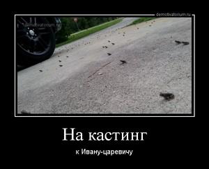 демотиватор На кастинг к Ивану-царевичу - 2014-4-25