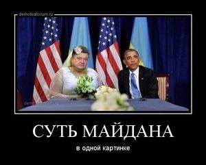 демотиватор СУТЬ МАЙДАНА в одной картинке - 2014-6-05