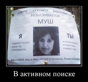 демотиватор В активном поиске  - 2014-6-24