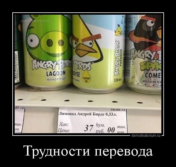 демотиватор Трудности перевода  - 2014-9-09