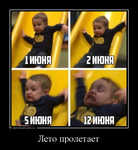 Демотиватор Лето пролетает  - 2016-6-13