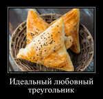 Демотиватор «Идеальный любовный треугольник »